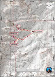 Bryce Canyon Map Pdf Hiking Petroglyph And Double Arch Canyons Eastern Reef Road