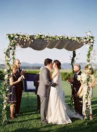 wedding chuppah floral wedding chuppah ideas once wed