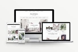 Lifestyle Blog Design Parker U2013 A Lifestyle Blog Theme