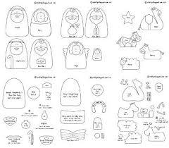 a felt nativity story free pattern felting and patterns