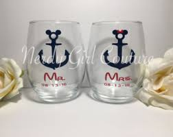 his and hers glassware his and hers glasses etsy