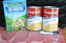 ranch house crock pot pork chops life in the lofthouse