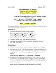 Accuracy Vs Precision Worksheet Answers Problem Set 1 Significant Figures Accuracy And Precision