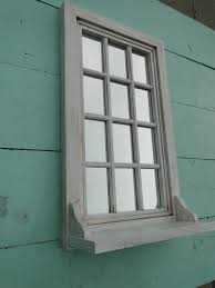 like the idea of window and little shelf as cil on the mirror