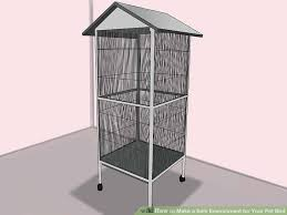 heat l for bird aviary how to make a safe environment for your pet bird with pictures
