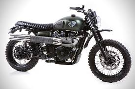 triumph motocross bike triumph scrambler the dirt bike by british customs hiconsumption