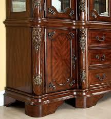 buy furniture of america cm3103hb cromwell buffet hutch