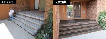 How To Resurface Concrete Patio Concrete Patio Floor Covering Michigan Concrete Resurfacing