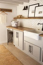 How To Install Wall Cabinets In Laundry Room Modern Navy Laundry Room Reveal Mud Rooms Laundry And Mud
