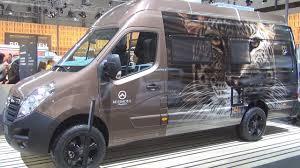 opel movano opel movano 2 3 bi turbo l3h3 3 5 t 4x4 reisemobil panel van 2017