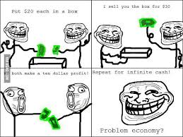 Troll Physics Meme - you ve seen troll physics introducing troll economics 9gag