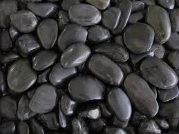 Black Garden Rocks Pebble Olimar Decorative