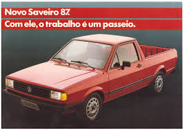 vw saveiro 1987 u0026 1988 volkswagen saveiro brochure