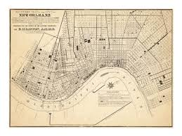 New Orleans City Map by Sanitary Map Of New Orleans Epidemiology Science Old Maps And