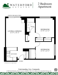 most popular floor plans assisted living