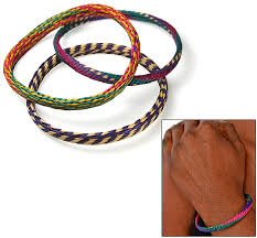 hand made bracelet images Handmade woven grass bracelets set of 3 the hunger site gif