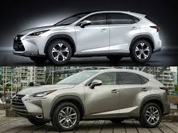 lexus nx usa review do you know why us bound lexus nx has a different snout than
