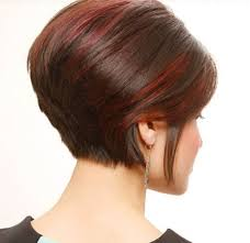 short haircuts over 60 back and front views bohemian short stacked bob front and back view
