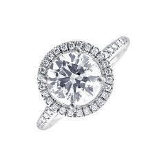 white gold halo engagement rings 14kt white gold halo engagement ring with center 1 56ct g