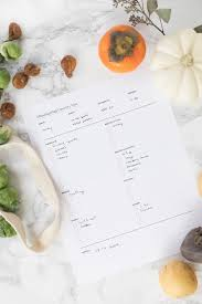 printable thanksgiving planner grocery list ctrl curate