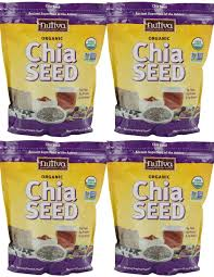 4 x 32oz nutiva organic chia seed 8 pounds and 50 similar items