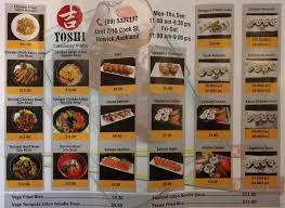 yoshi japanese cuisine yoshi japanese cuisine menu menu for yoshi japanese cuisine