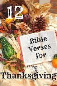 bible verses for thanksgiving 2017