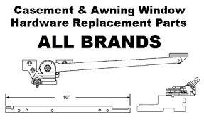 Window Awning Hardware Window Hardware Parts Slimfold Stanley Thermalgard Traco