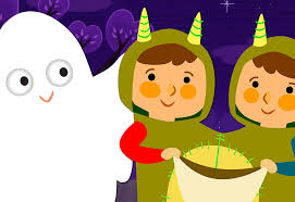 knock knock trick or treat super simple songs