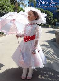 Halloween Costumes Petite Sizes Jolly Holiday Kids Mary Poppins Custom Costume Red Satin