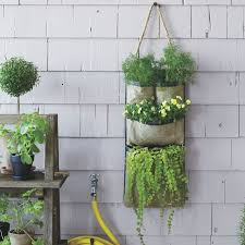 Hanging Wall Planters Hanging Bag Planters West Elm
