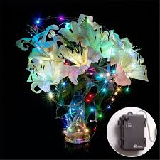 battery operated led string lights waterproof rgb waterproof 3 aa battery operated led string lights
