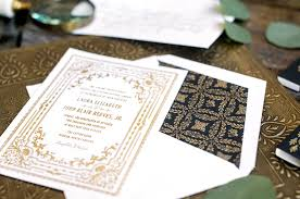 and black wedding invitations florentine suite hello tenfold wedding invitations