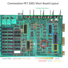 troubleshooting common problems with the commodore pet 2001 d