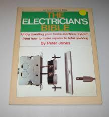 the electrician u0027s bible amazon co uk peter jones 9780385173452
