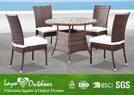 5 piece patio table and chairs all weather wicker garden furniture table and chairs 5 pc patio