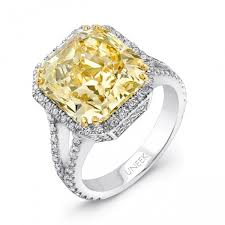 fancy yellow diamond engagement rings 7 72ct radiant cut fancy yellow diamond engagement ring lvs831