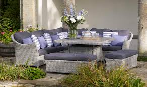 Curved Modular Outdoor Seating by Bramblecrest Garden Furniture Monterey Modular Curved Corner