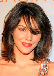 hairstyles for brown hair medium length medium length dark brown hair with blonde highlights hairstyle