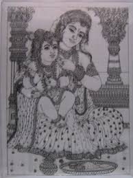 how to make tanjore painting google search drawing pinterest