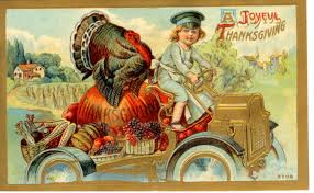 34 vintage thanksgiving postcards free domain images