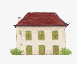 hand painted house free of charge vector hand painted house free buckle