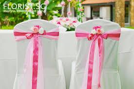 Chair Tie Backs Designer Themes Florist Sg