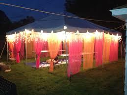 back yard party tent for mendhi night function mehndi jaaggo