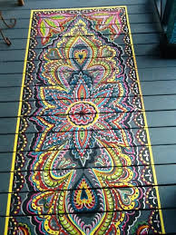 top 10 stencil and painted rug ideas for wood floors stenciling