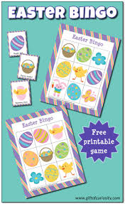 easter bingo game free printable gift of curiosity