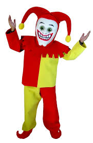 Halloween Mascot Costumes Buy Joker Clown Court Jester Mascot Royal Court Jester Costume