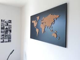 World Map Cork Board by Cork Board World Map On Behance