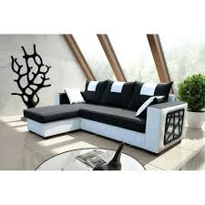 canape angle noir et blanc canape noir et blanc convertible canapa sofa divan canapac