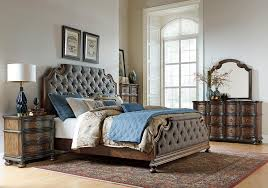 Bedroom Sets Queen Lacks Tuscany Valley 4 Pc Queen Bedroom Set Transitional Style
